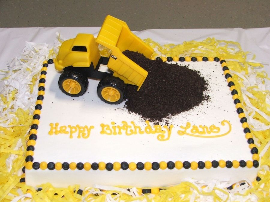 Dump Truck Birthday Cake Projects To Try In 2018