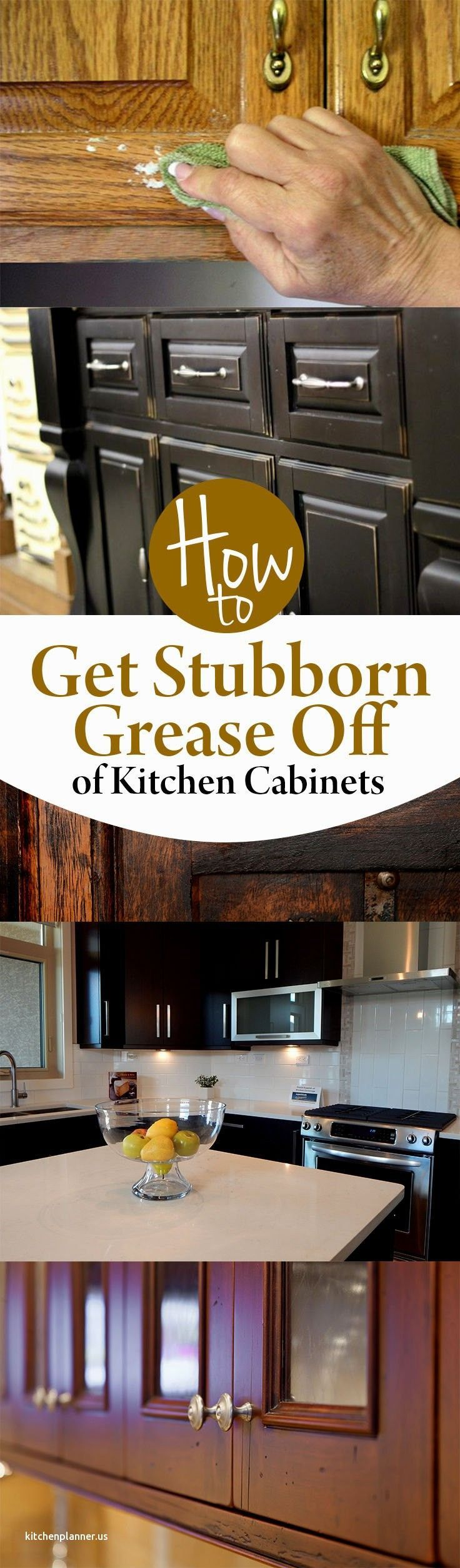 Beautiful How to Clean Sticky Grease Off Kitchen Cabinets ...