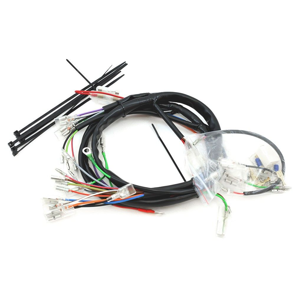 medium resolution of norda wiring harness for rick s charging kit fits cb cl sl 350 cb cl 250