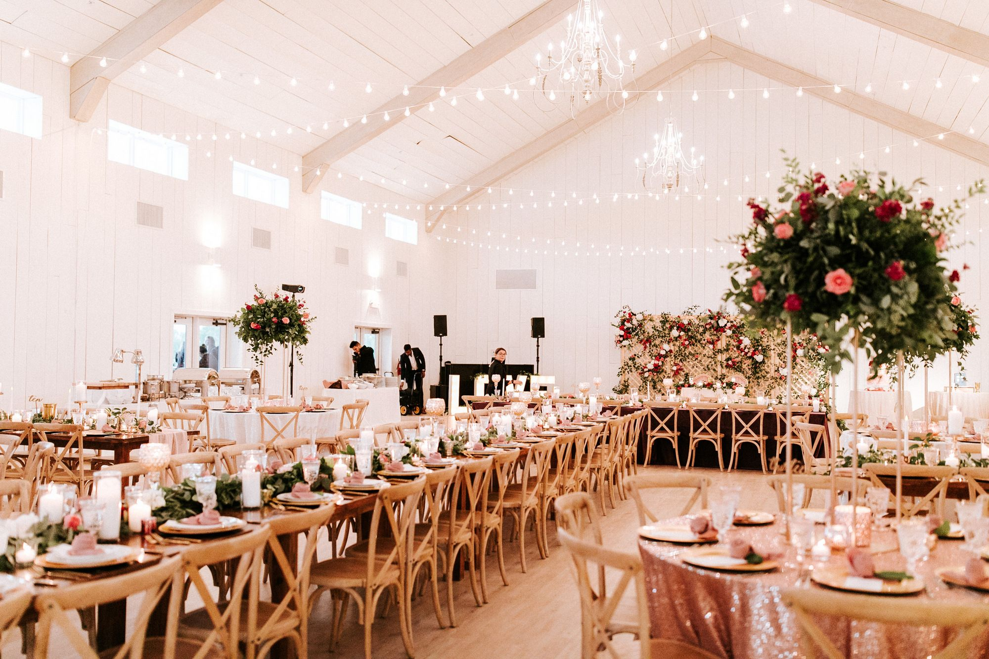The Reception Room Rent My Dust Fairytale Wedding At The Grand Ivory With Bay Productions B Cottage Wedding Destination Wedding Planner Summer Wedding Dress