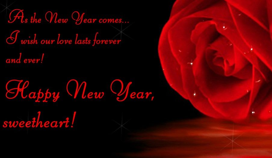 New year love wishes for her greeting card happy new year my love new year love wishes for her greeting card m4hsunfo