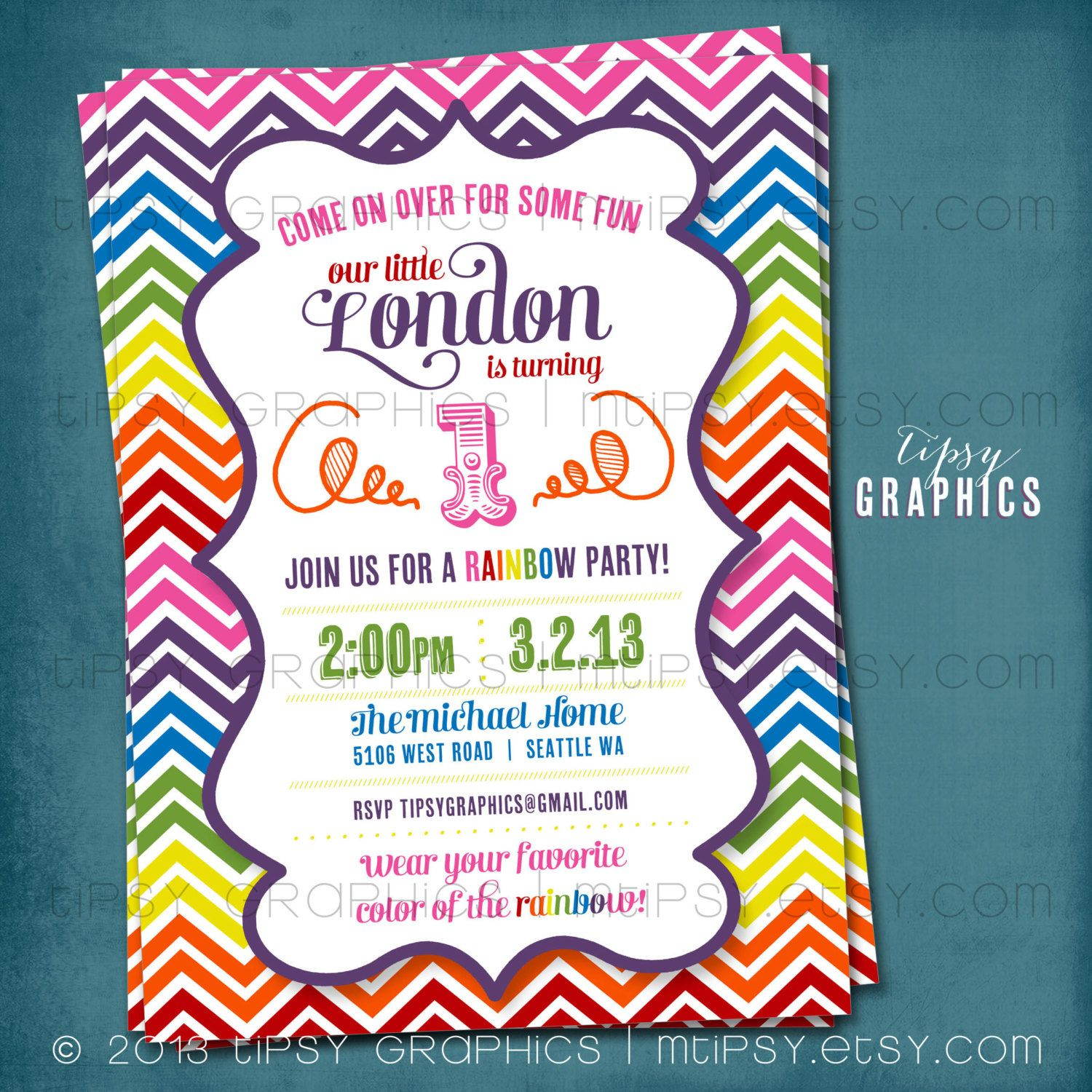 Invite idea party ideas Pinterest
