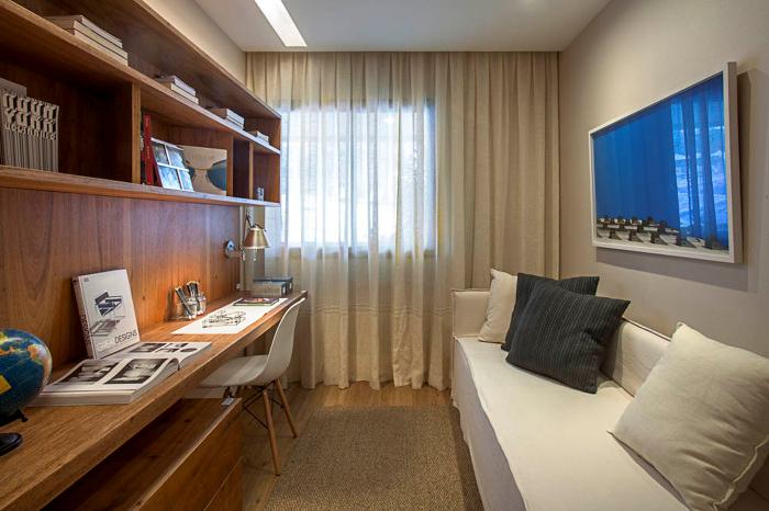Sala Tv Quarto Hospedes ~ Quarto de hóspedes e escritório em casa  Bedrooms