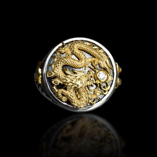 "Capitan ""The Dragon"" Ring 
