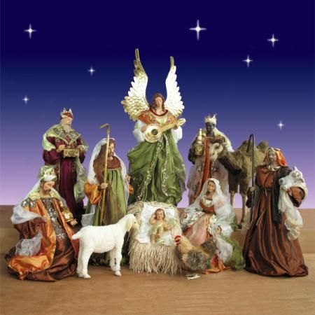 12 Piece Church Nativity Set 42 Inch Scale Nativity Set Christmas Nativity Scene Christmas Nativity Set