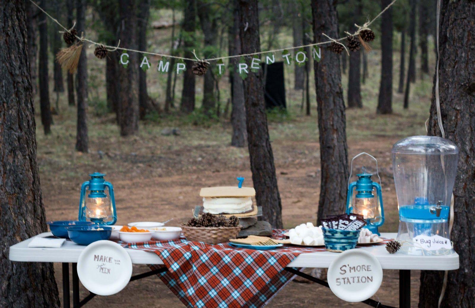 camping birthday adventure birthdays and birthday party ideas