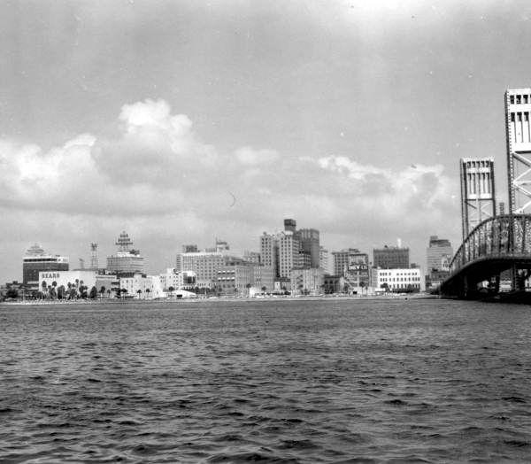 Florida Memory Waterway Jacksonville Florida 1970 This Is
