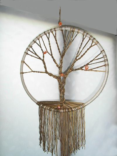 My First Macrame Tree Of Life Macrame My Work