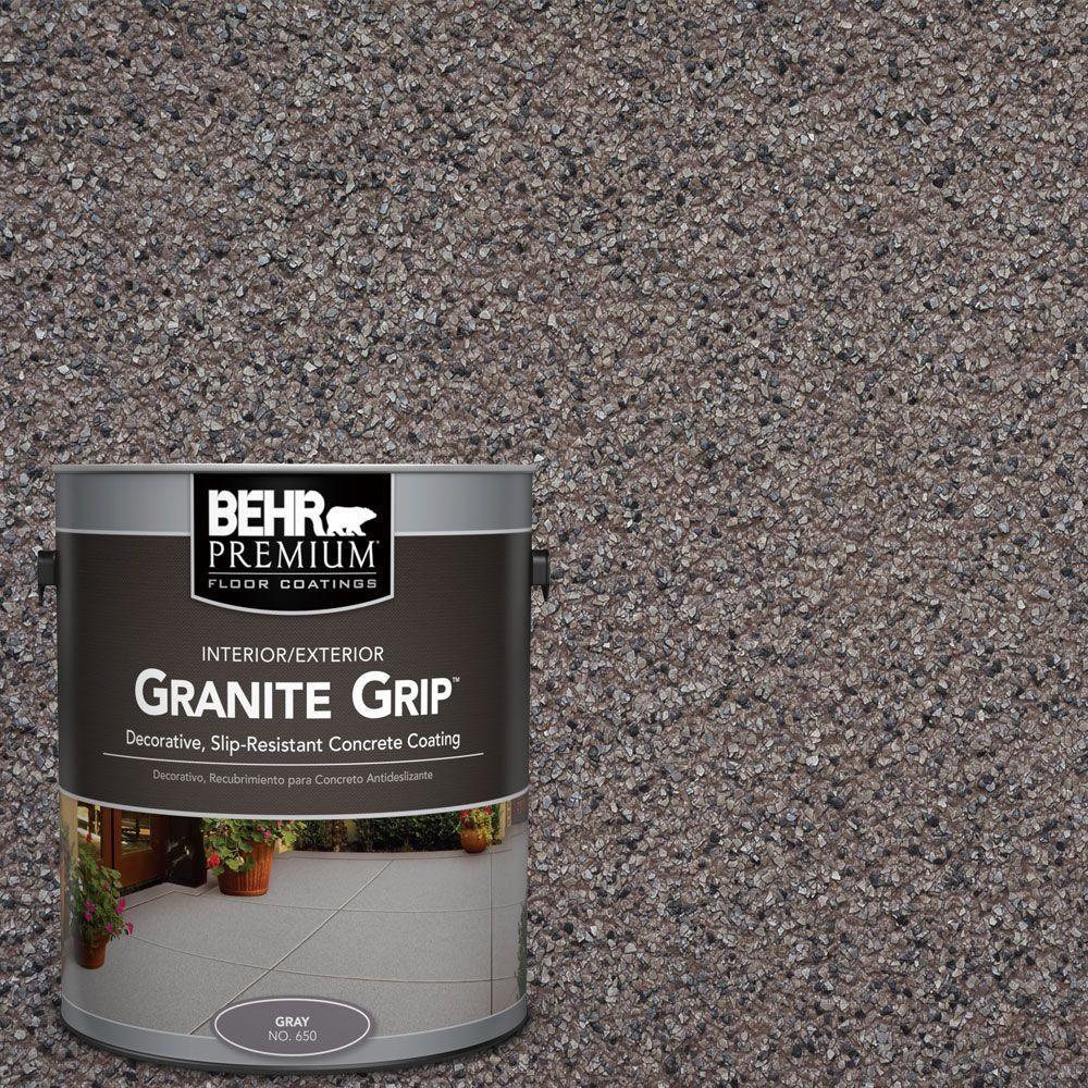 BEHR Premium 1 Gal. #GG 03 Atlantic Topaz Decorative Concrete Floor  Coating 65001   The Home Depot. BetonbodenbeschichtungenDekorativer ...