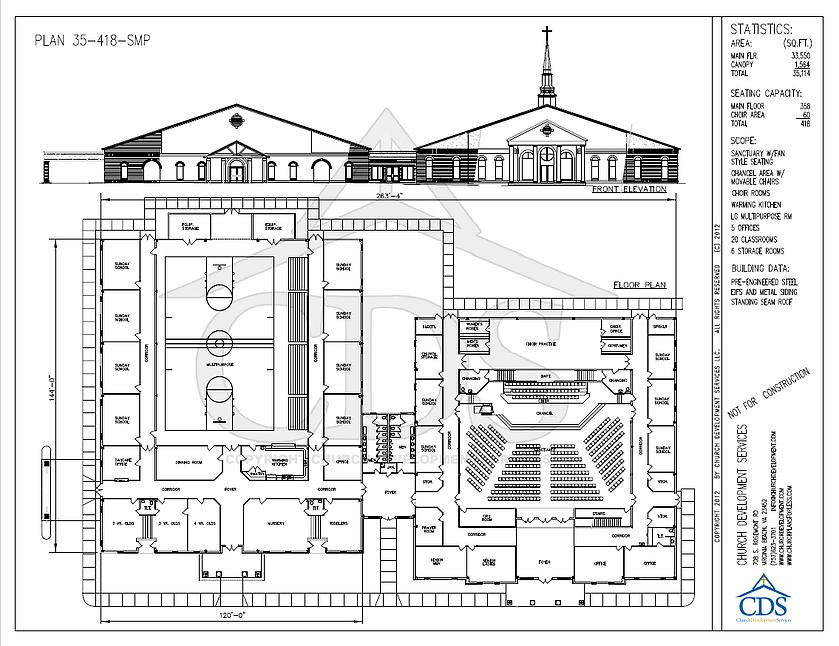 Pin On Church Plans