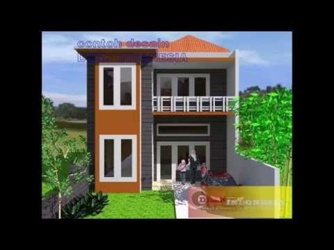Desain Rumah Minimalis 2 Lantai Ukuran 6x15 Rumah111 Com