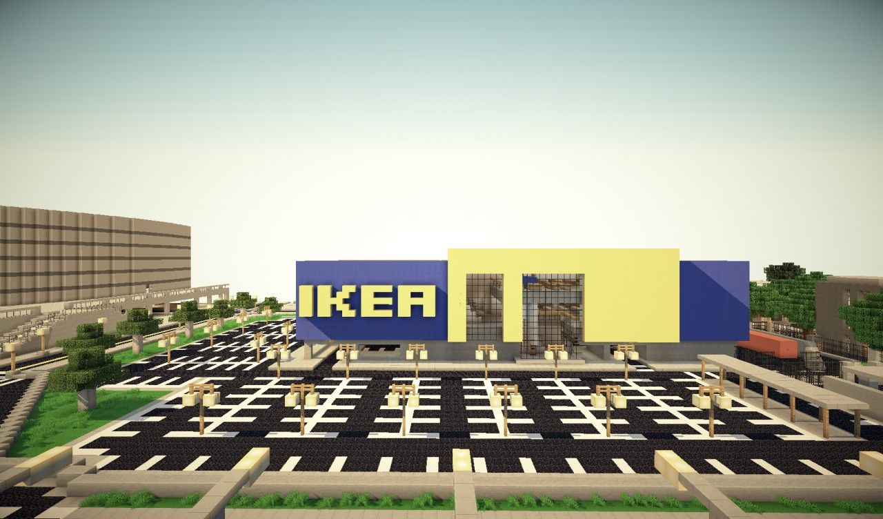 IKEA Furniture Store Minecraft Project