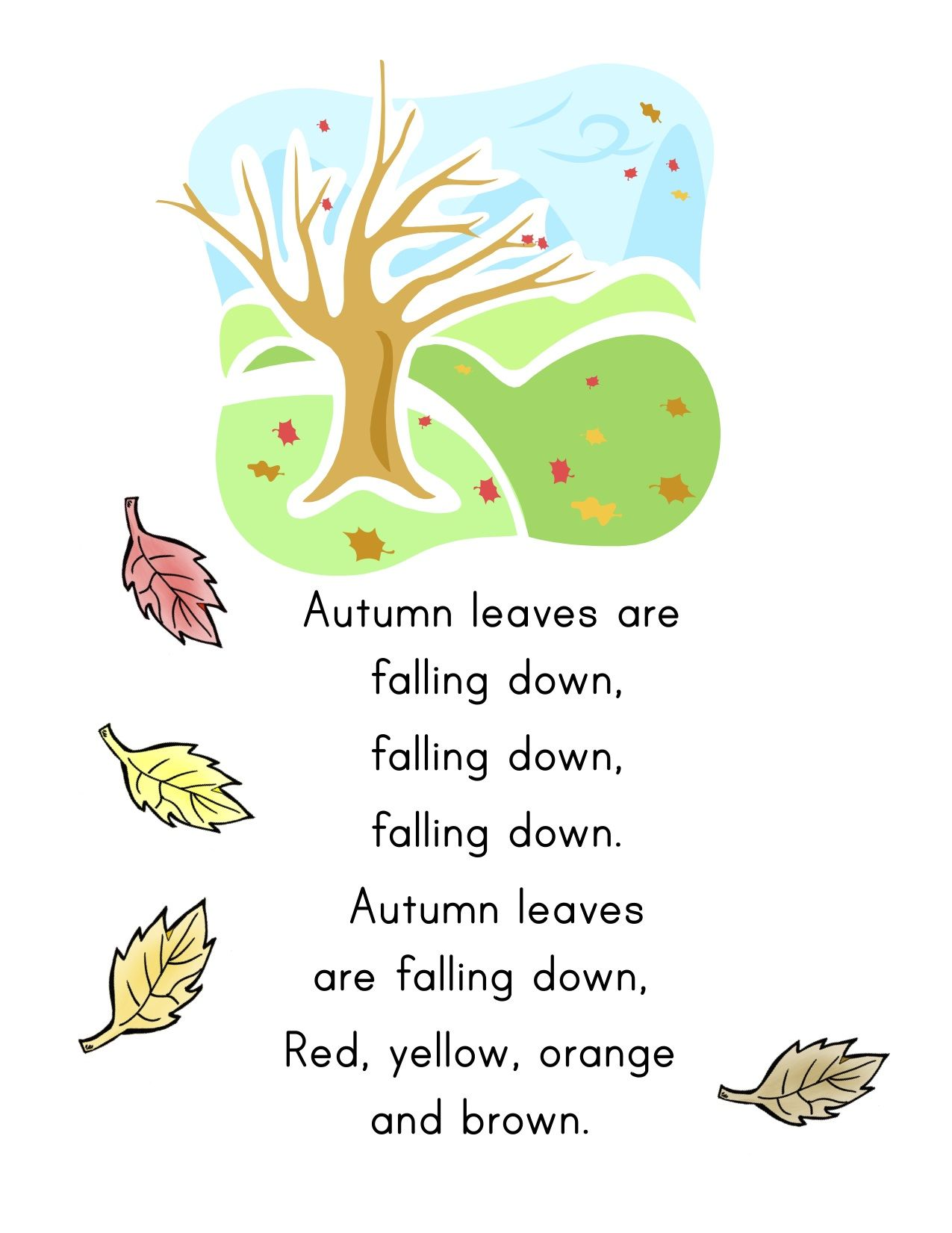 FALL activities for kindergartners. Click to find two weeks\' worth ...