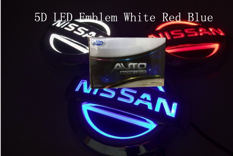 3D LED Car Tail Logo Blue light Auto Badge Light for Mazda 6