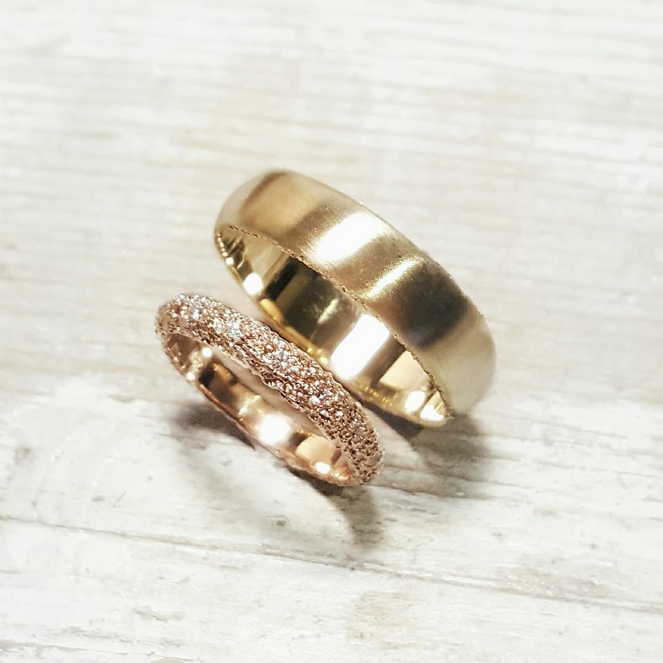 70 Lovely Wedding Couple Ring Ideas For You And Your Soulmate Couple Wedding Rings Wedding Rings Couple Rings