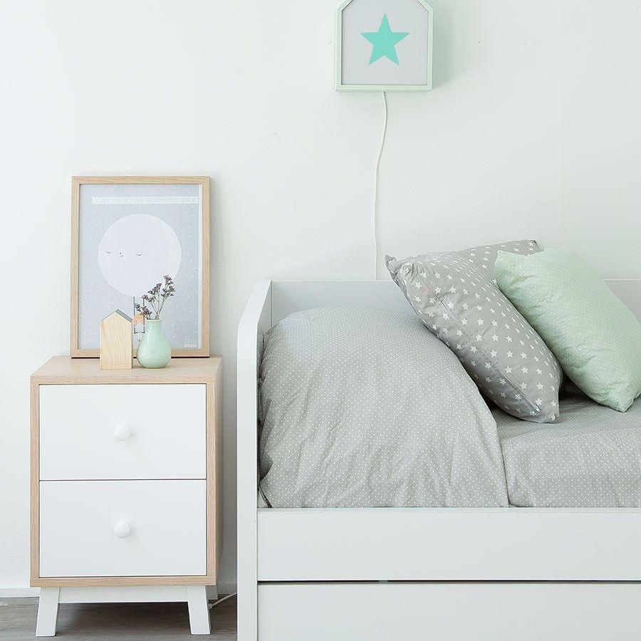 mesita-noche-mueble-kenayhome | Novedades | Pinterest | Mesas ...