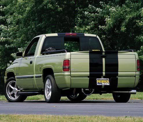 2nd Gen Ram R T Check Out The Tailgate Spoiler Dodge Trucks Ram Dropped Trucks Dodge Daytona