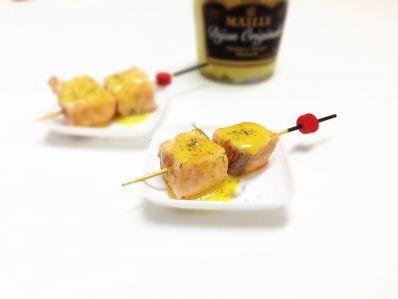 Receta | Brocheta de salmón a la naranja  http://canalcocina.es/receta/brocheta-de-salmon-a-la-naranja-1 canalcocina.es