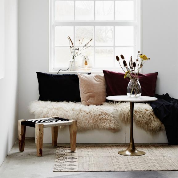 Wohnen mit Fell Wohnzimmer, Wohnen und Wohnideen - kuhfell wohnzimmer modern