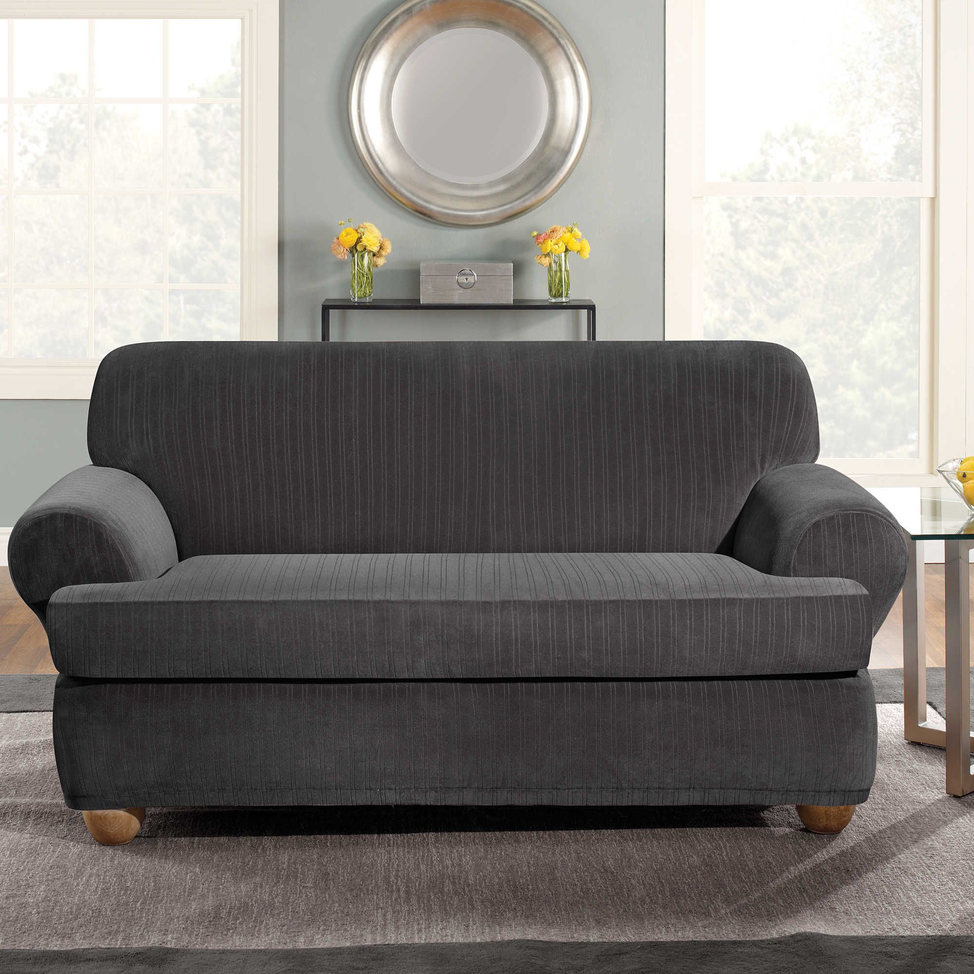 oversized sofa t nice outdoor cushion piece fascinating slipcover loveseat chair slipcovers