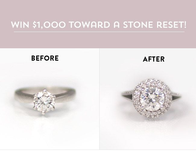 Win 100 Towards Your Stone Reset With Gemvara Simple Ringswedding