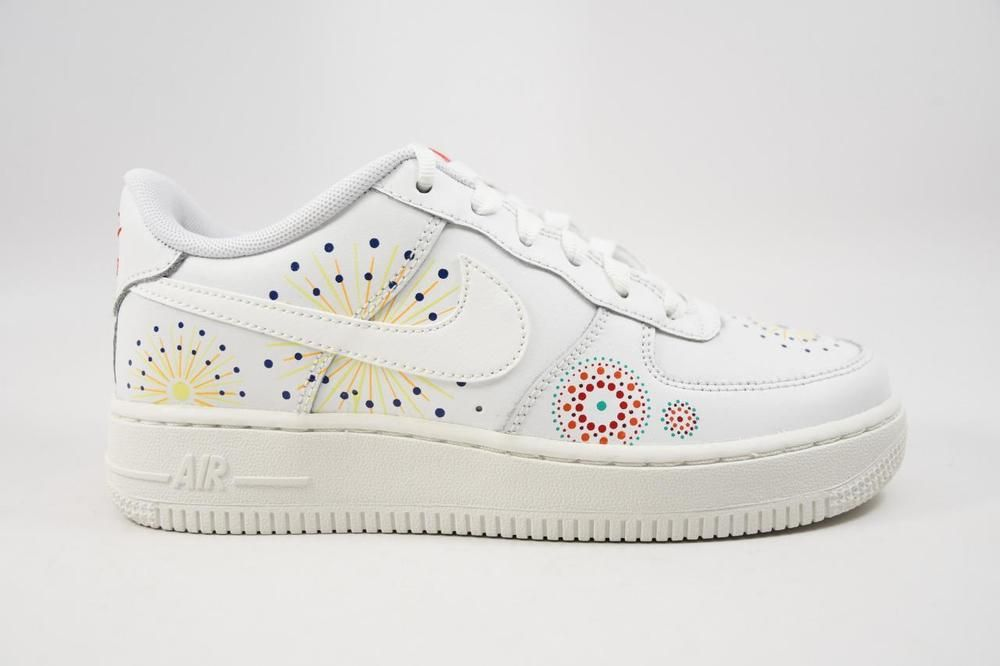 eBay #Sponsored Nike Air Force 1 Pinnacle QS GS Summit White