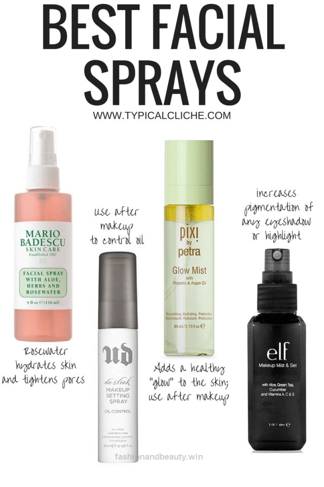 Best Facial Sprays For All Skin Types Special Ingredients