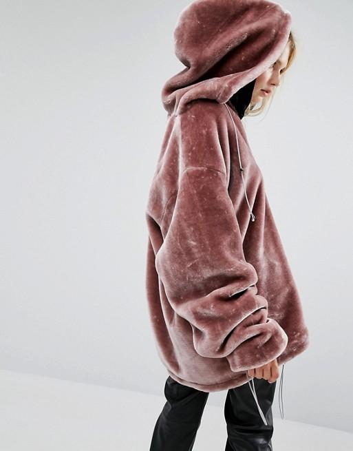 Lola Extreme Oversized Hoodie Coat