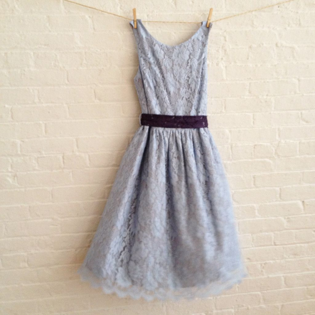 Sohomode u blue lace dress bridesmaids dress could be made up in