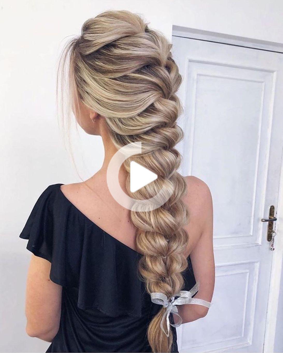 14 Facile Tresse Coiffures Pour Cheveux Longs Coiffure Belle Coiffure Coiffure Cheveux Long