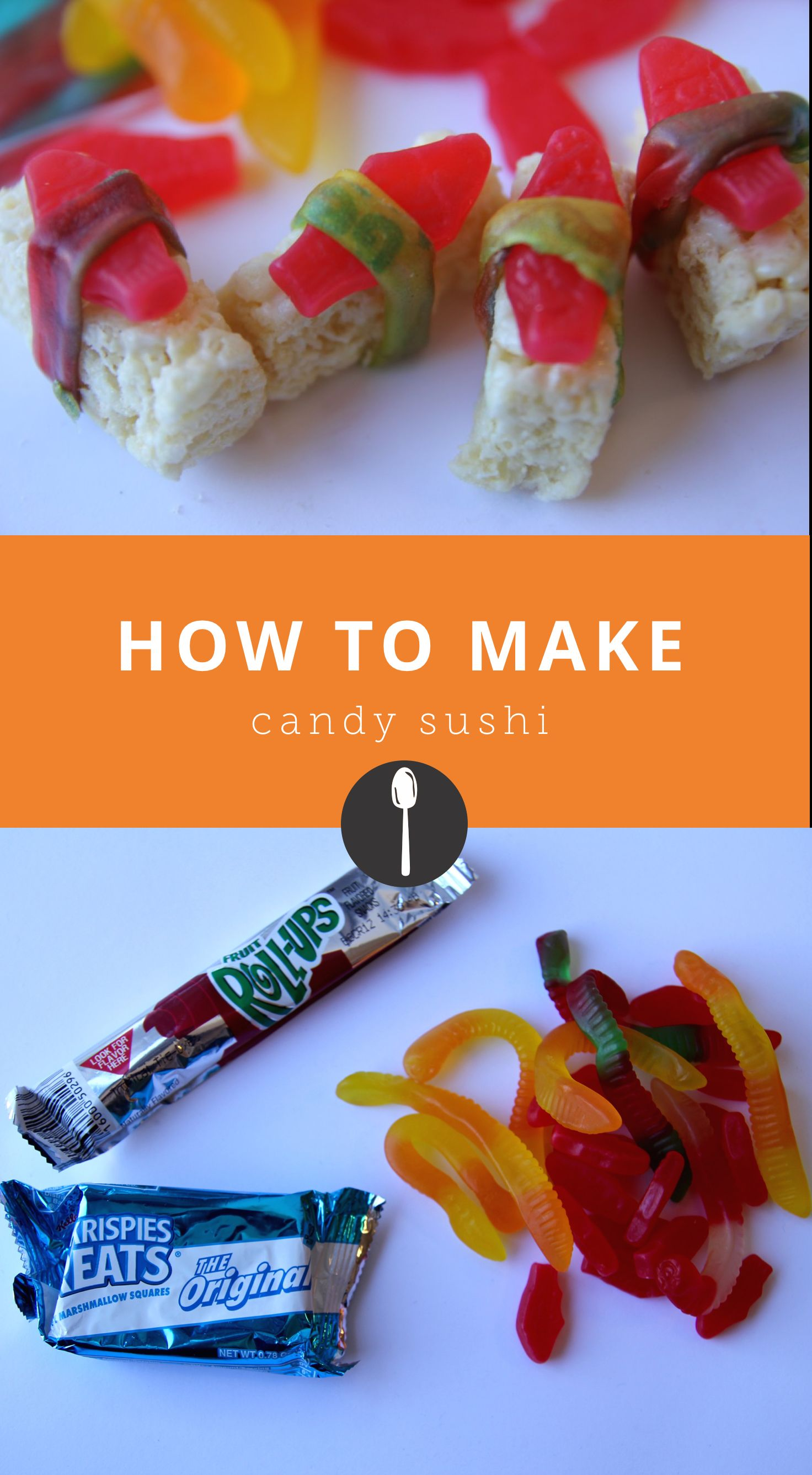 How to Make Candy Sushi #candysushi