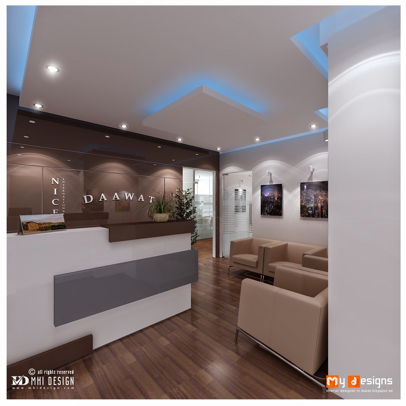 Office Reception Furniture Design Proposal For One Of MHI Design Client Find  More Office Furniture Designs