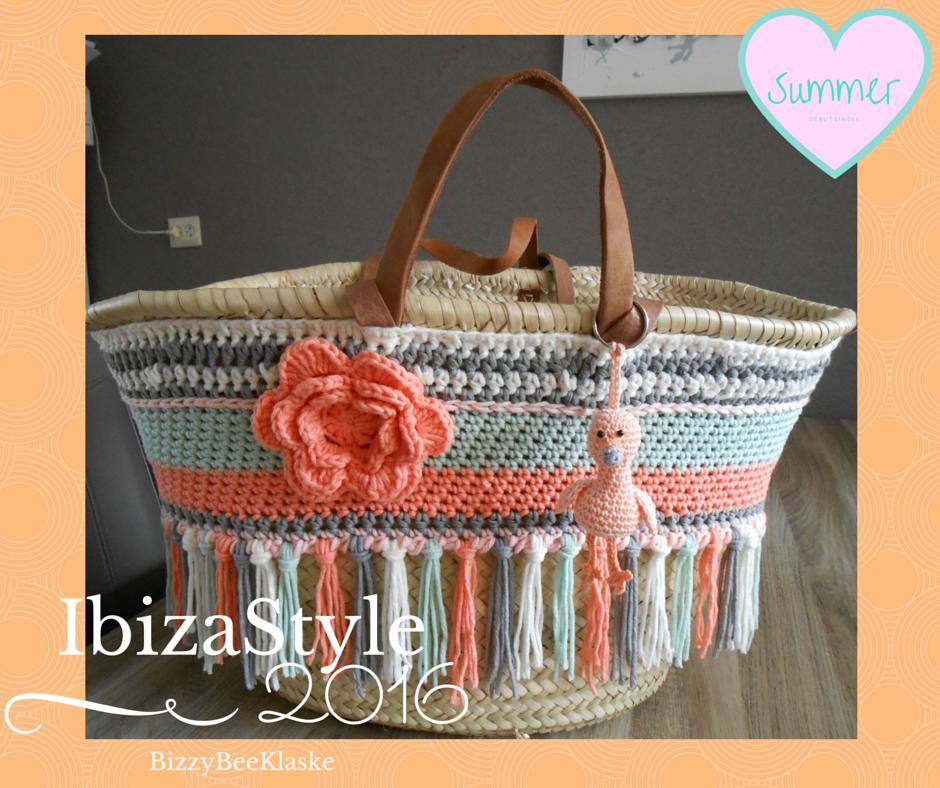 Uitzonderlijk Ik doe ook mee aan de rage.rieten tassen omhaken Ibiza Style  VZ94