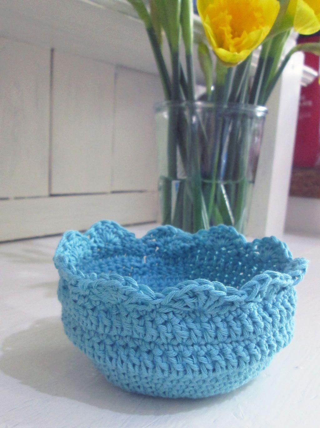 Crochet Bowl Pattern New Decoration