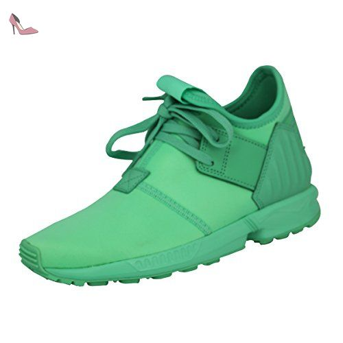 size 40 d21d0 60bf9 Adidas Originals ZX FLUX PLUS K Chaussures Mode Sneakers Enfant Vert - Chaussures  adidas ( Partner-Link)