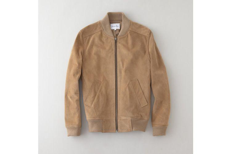 Steven Alan Bedford Leather Jacket