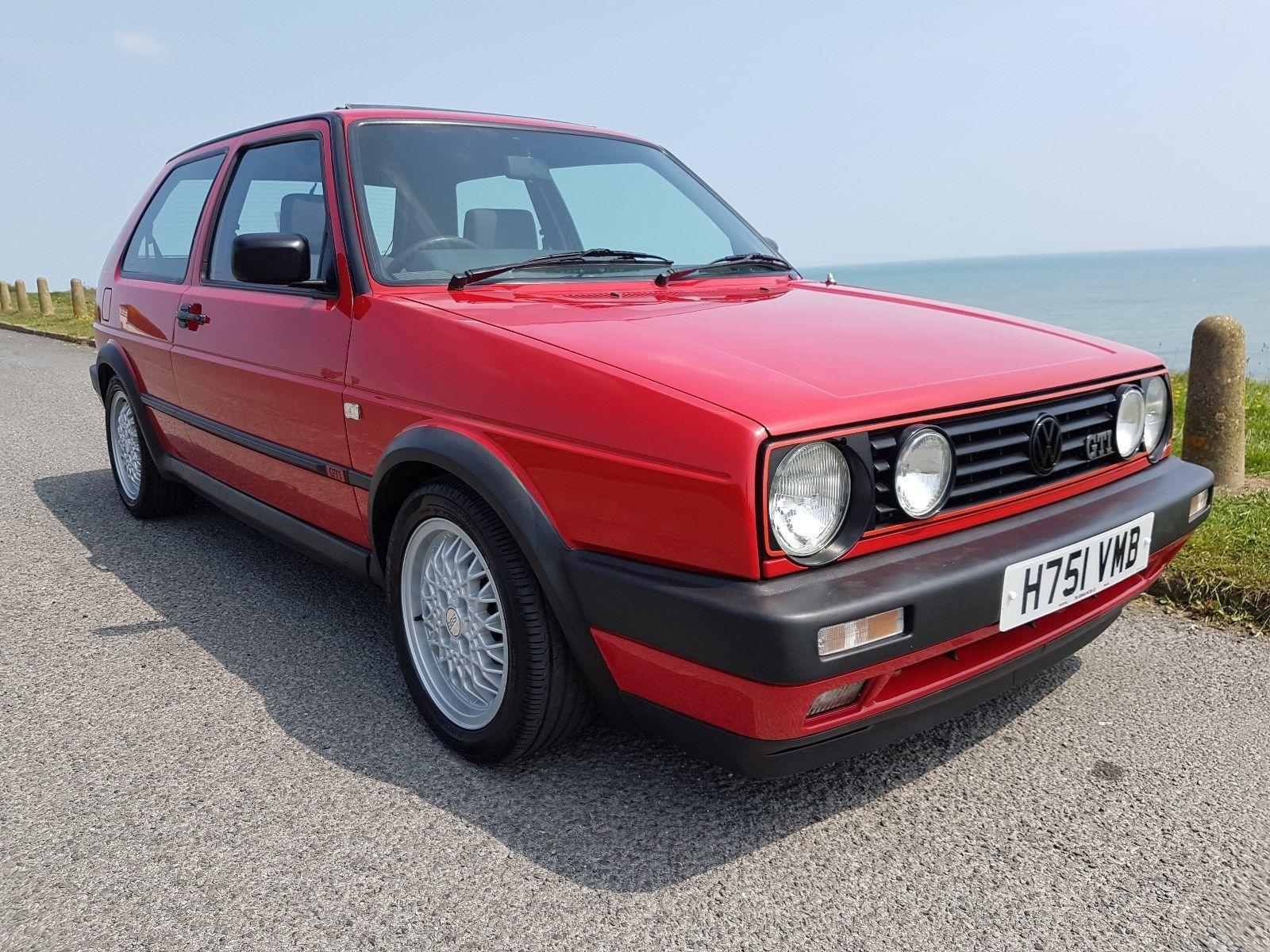 Volkswagen Golf Mk2 Gti 8v 3dr 1990 H 100 Original One Of The Best