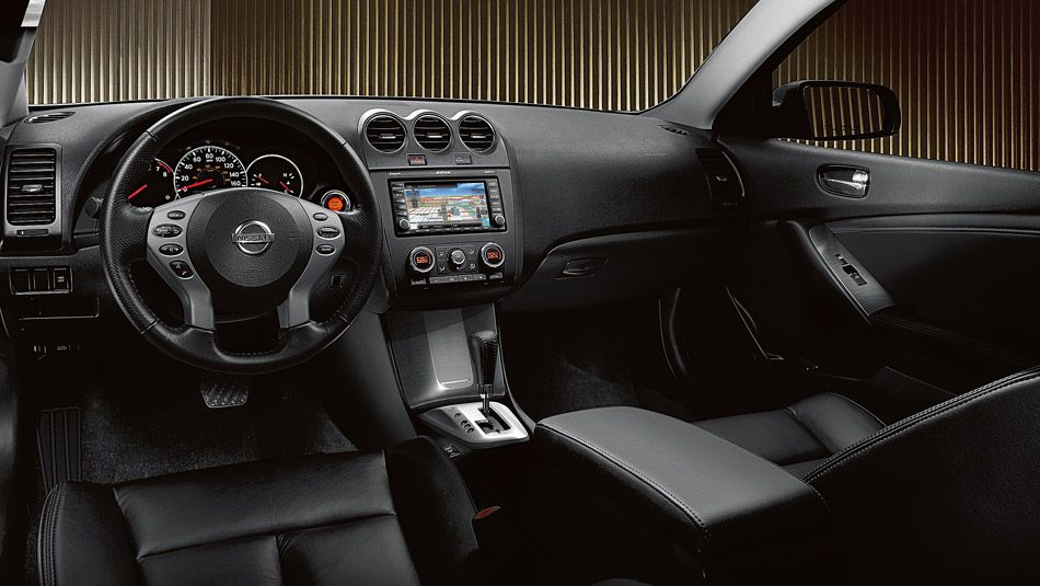 2013 Nissan Altima Coupe   Interior.. I Got To Have Leather And Heating  Seats Again, It Is A Must For Me :)