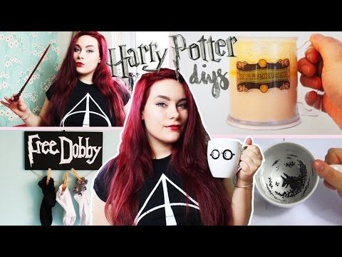DIYs Harry Potter fans MUST try! - YouTube