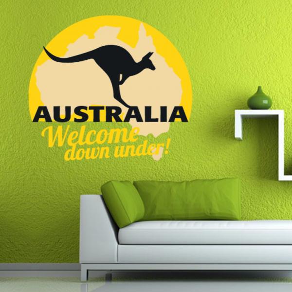 Travel the world Australia wall sticker | Wall sticker