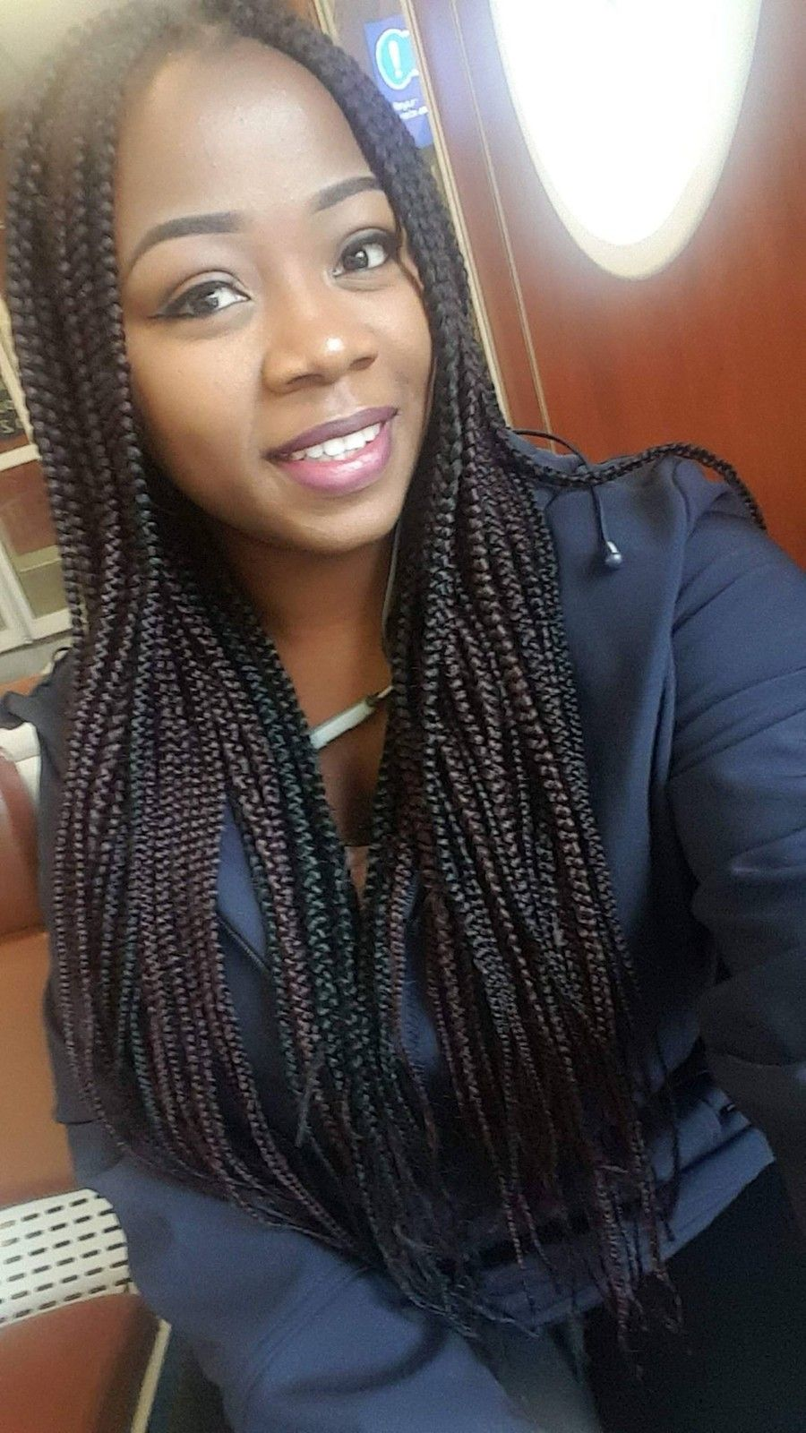 Simple self made boxbraids | Womens hairstyles, Hair beauty, Beauty