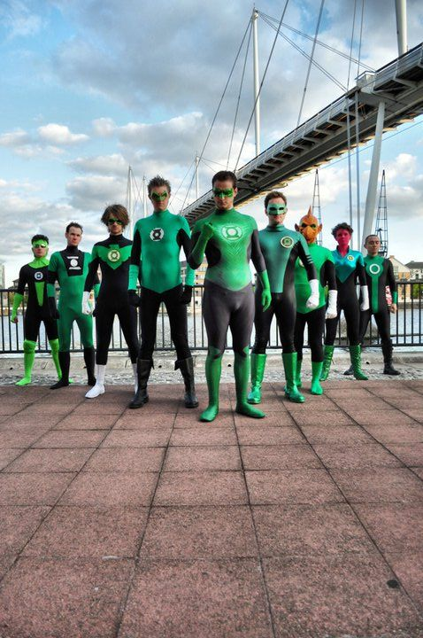 Green Lantern Cosplay On Pinterest