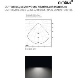 Photo of Nimbus Modul R 900 Project pendant light without indirect component 400cm extra warm white (2700 ° K) simple