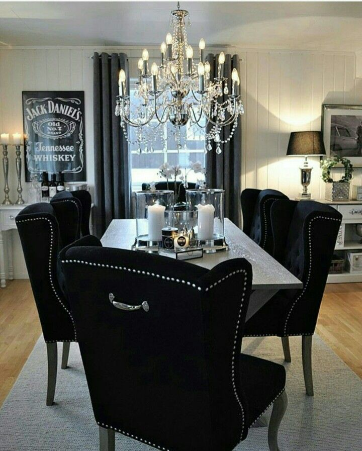 25 Elegant And Exquisite Gray Dining Room Ideas: Pin By Ash Violet On H O M E D E C O R