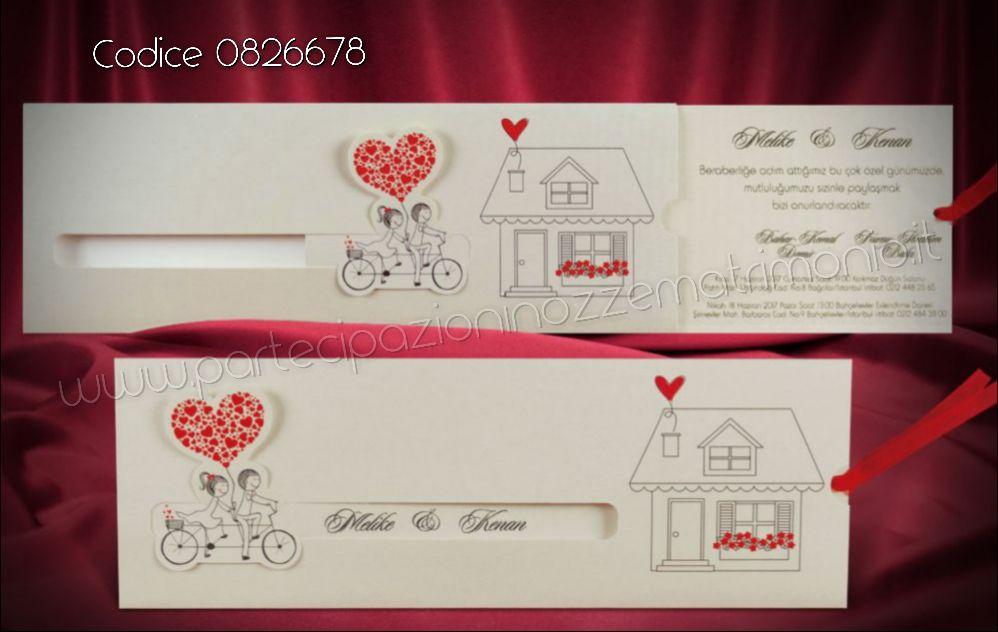 Partecipazione Matrimonio Sposi In Bicicletta Partecipazioni Nozze Matrimonio Biglietti D Invito Partecipazioni Di Nozze Romantiche Inviti Per Matrimonio
