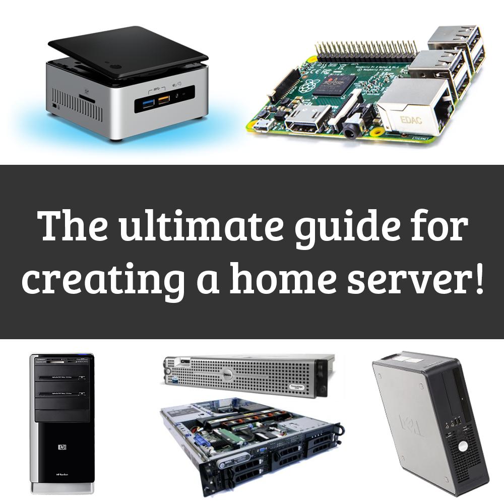 how to make a computer a server