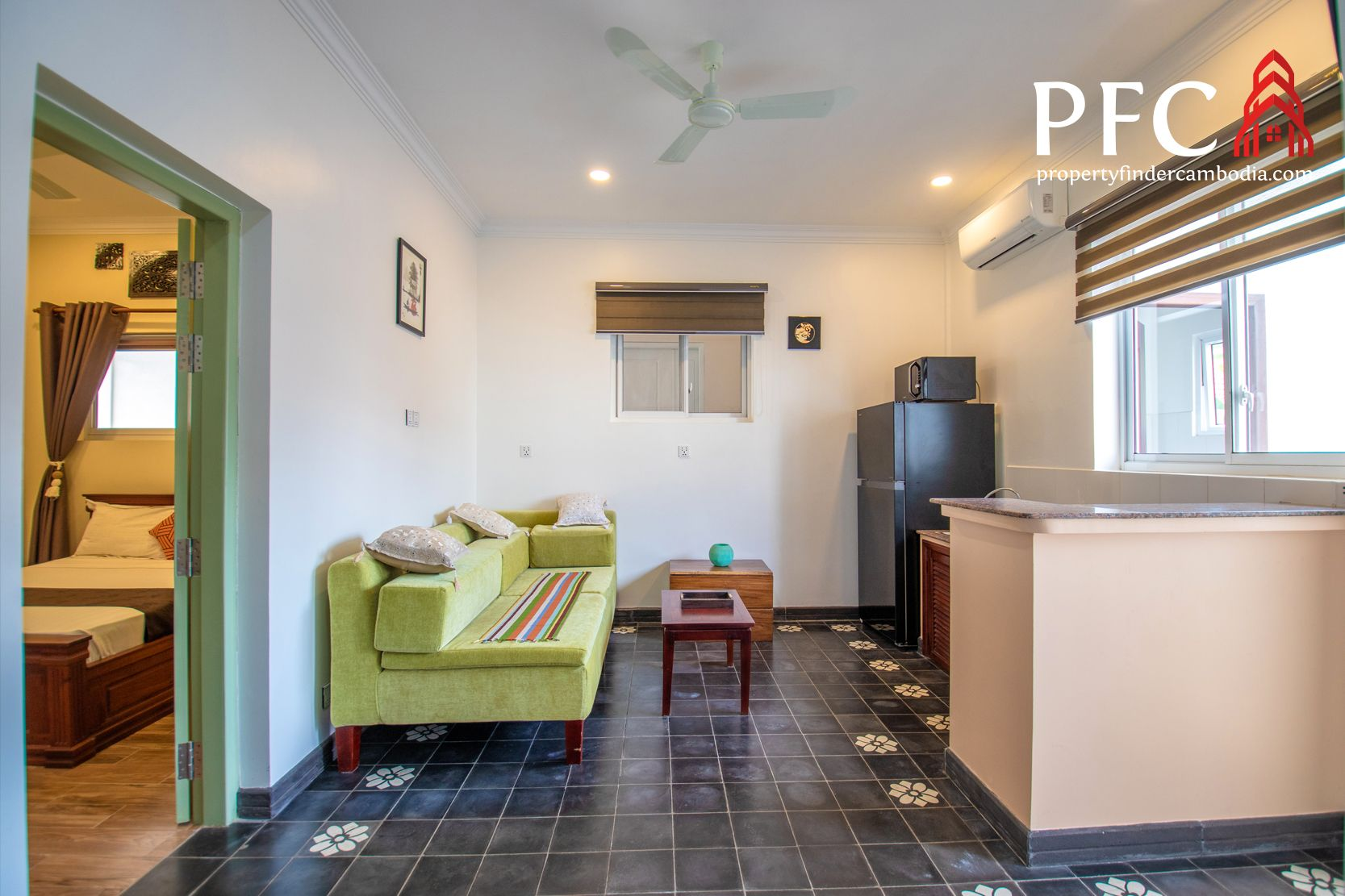 1 Bedroom Apartment For Rent In Siem Reap 1 Bedroom Apartment Apartments For Rent Apartment Design