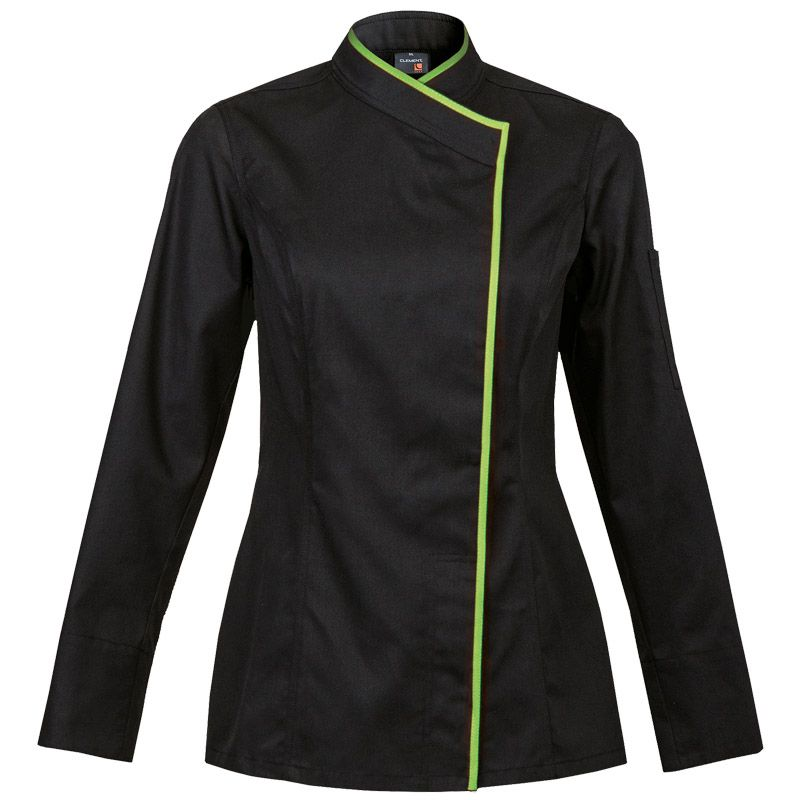 Clement design women 39 s chef jacket from france intuition for Spa uniform france