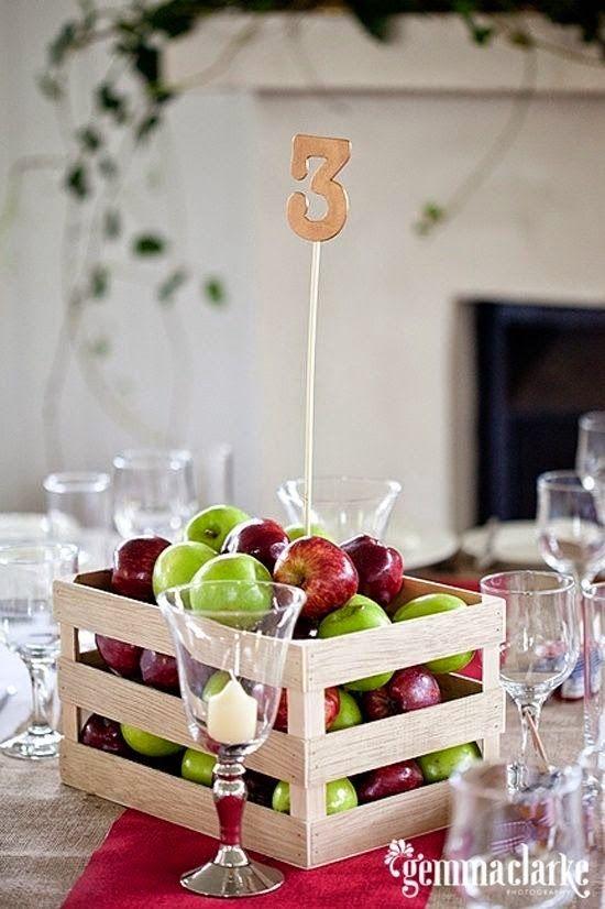 9 centros de mesa para bodas con frutas italian party for Centros de mesa con frutas