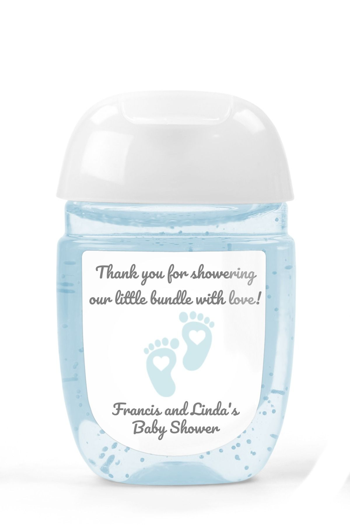 Hand Sanitizer Label Bed Bath Body Works Pocketbacs Choose Blue